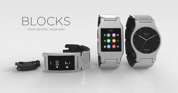 Blocks modüler akıllı saat projesi hayata geçiyor