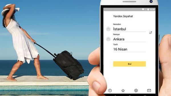 Yandex Türkiye seyahat servisini hizmete açtı