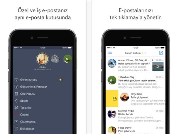 Yandex.Mail iOS sürümü yenilendi