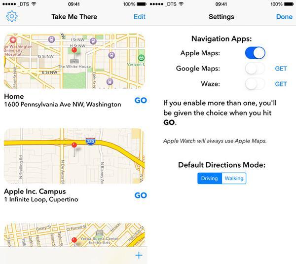 iOS cihazlara özel yeni navigasyon uygulaması: Take Me There