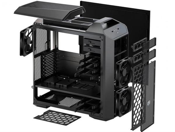 Computex 2015 : Cooler Master dış tasarıma önem veren MasterCase kasa konseptini duyurdu