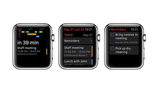 Fantastical 2'ye Apple Watch desteği geldi