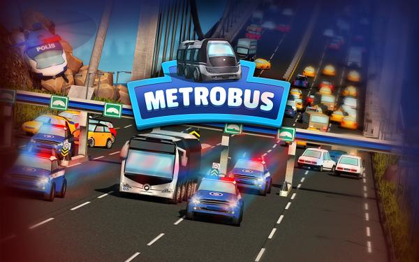 Metrobüs : Race in Istanbul ile metrobüs şöförü olun