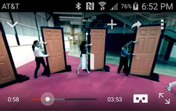 YouTube'un Android uygulamasına sanal gerçeklik gözlüğü Cardboard desteği ekledi