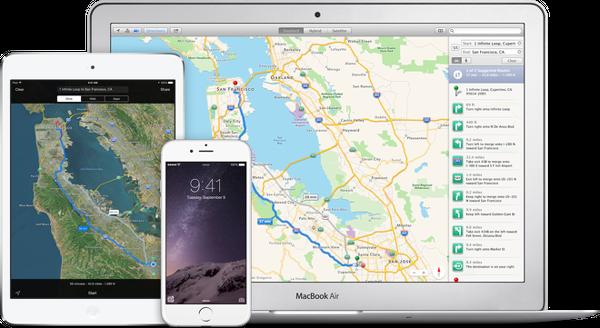Apple Haritalar diğer platformların tarayıcılarına da geliyor