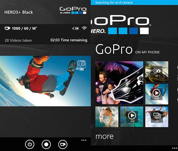 GoPro, resmi uygulamasını tüm platformlarda güncelledi