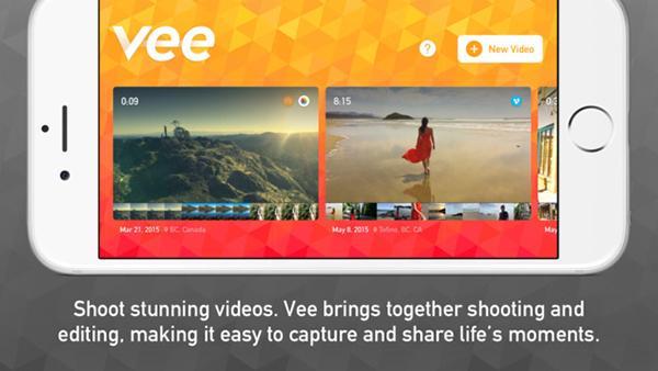 iOS platformuna video odaklı yeni uygulama: Vee for Video