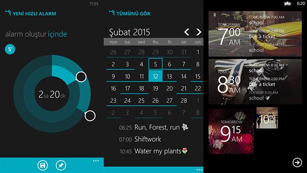 Windows Phone uyumlu alarm uygulaması Realarm güncellendi
