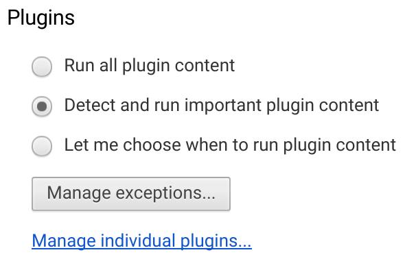 Chrome otomatik olarak Flash içerikleri durdurabilecek
