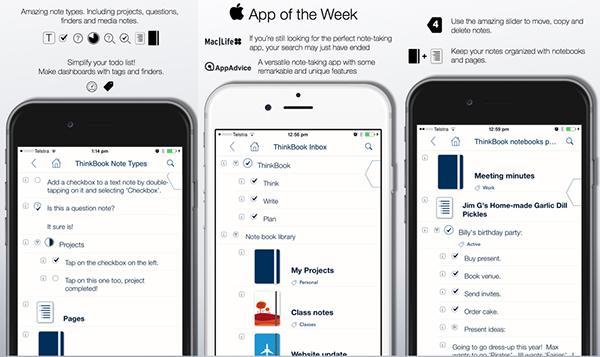 iOS uyumlu ThinkBook uygulaması ücretsiz yapıldı