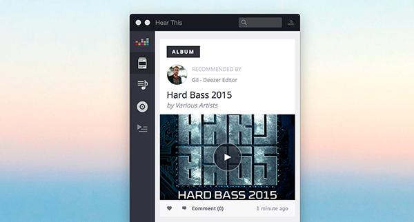 Deezer'in Mac ve iPad sürümleri güncellendi