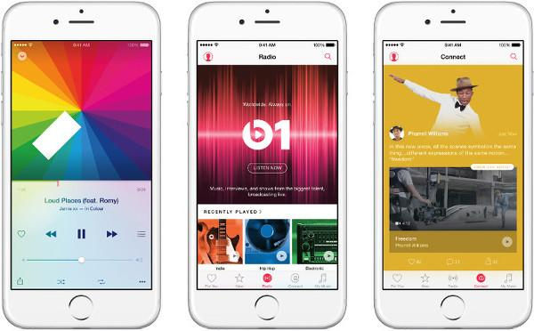 Apple resmen çevrimiçi müzik sektöründe
