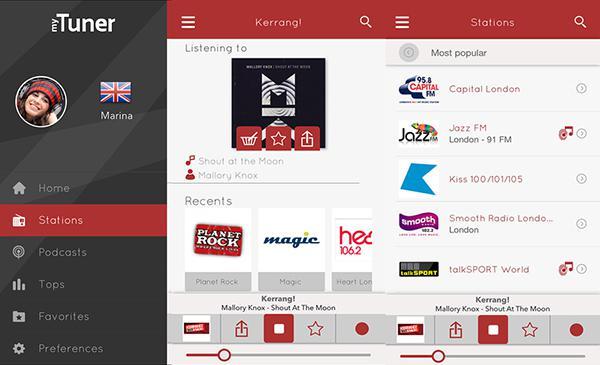 myTuner Radio'nun iOS sürümü ücretsiz yapıldı