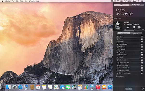 Mac uyumlu WidgeTunes artık ücretsiz