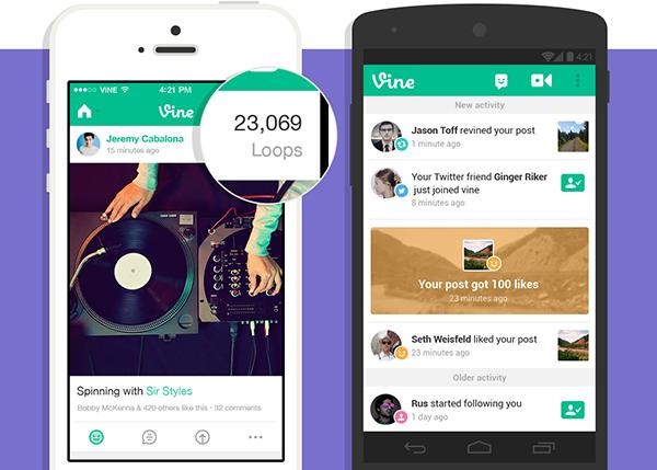 iOS için Vine güncellendi
