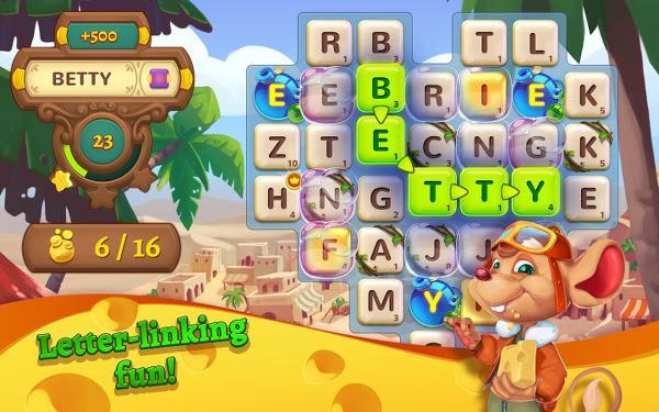 King'den ilk kez bir kelime oyunu : AlphaBetty Saga