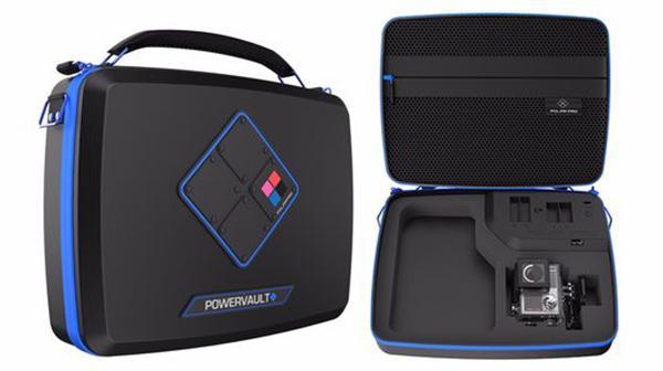 Şarj yeteneği bulunan GoPro odaklı taşıma çantası: Polar Pro