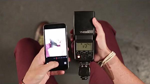 iPhone uyumlu dünyanın ilk kablosuz flaş tetikleyicisi: Tric
