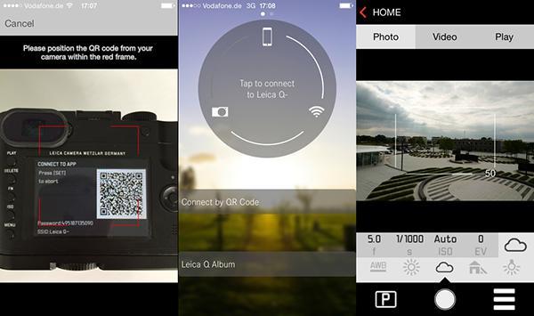 Leica Q uygulaması iOS ve Android için kullanıma sunuldu