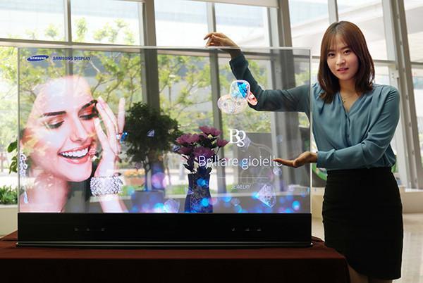 Samsung yeni yansımalı ve şeffaf OLED ekranlarını tanıttı