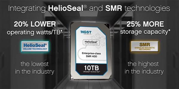 HGST dünyanın ilk 10TB kapasiteli HDD ürününü duyurdu