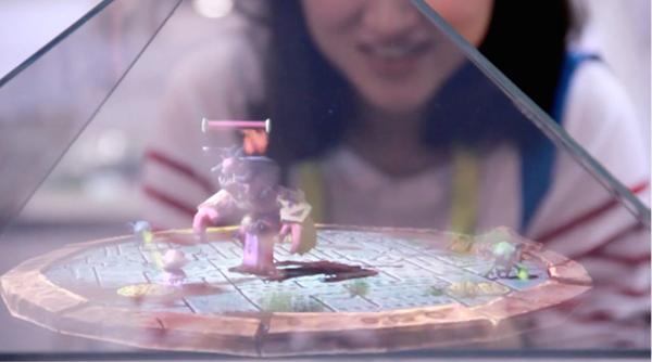Gerçek ile sanal dünyayı harmanlayan holografik ekran: Holus