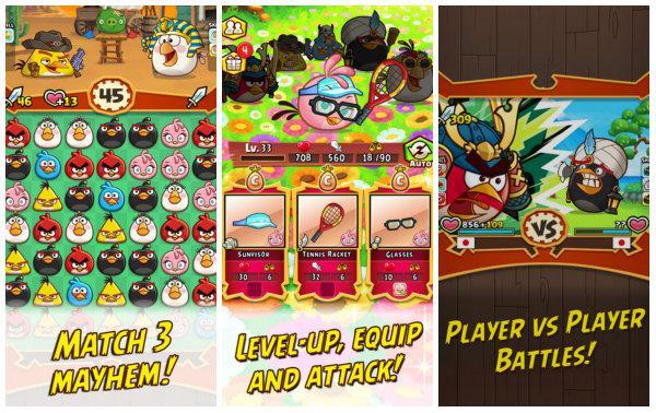 Angry Birds Fight! indirmeye sunuldu