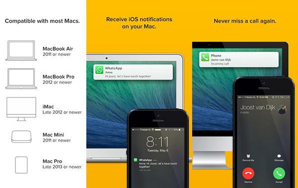 iOS ile Mac arası bildirim aktarımı yapabilen Notifyr uygulaması artık ücretsiz