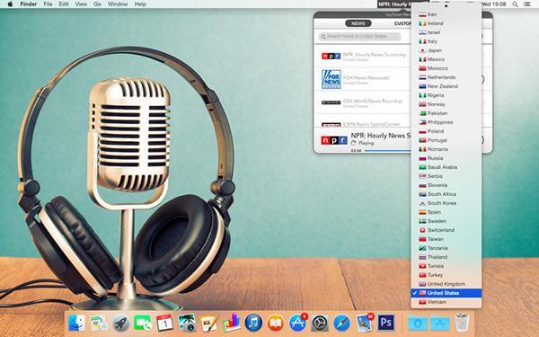 Mac için hazırlanan myTuner News Pro ücretsiz yapıldı