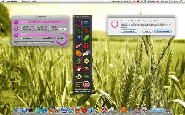 Fotoğraf odaklı Mac uygulaması batchROTATE artık ücretsiz