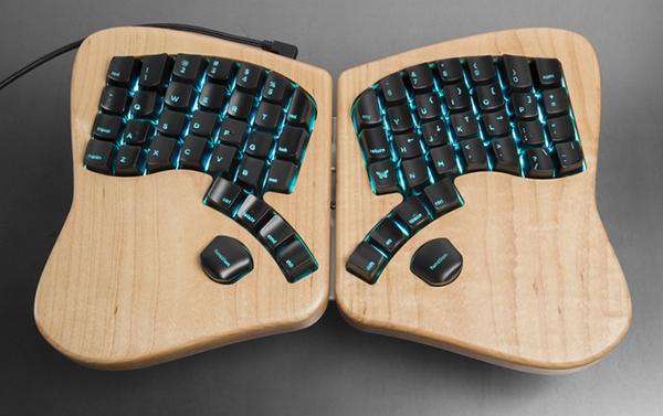 Kickstarter'da büyük destek gören ilginç klavye: The Model 01