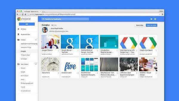 Chrome sık kullanılanlar yönetim eklentisi iptal edildi