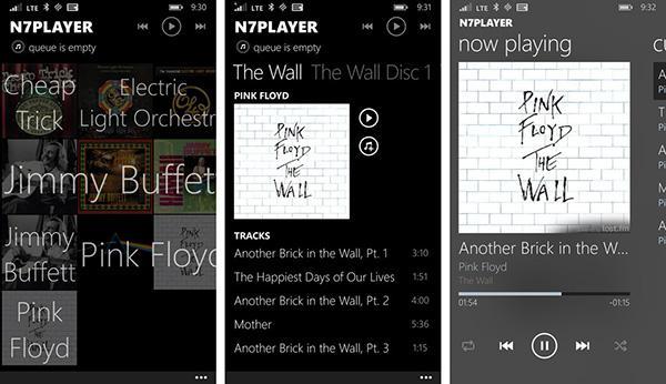 Windows Phone ve Windows için hazırlanan n7player artık ücretsiz