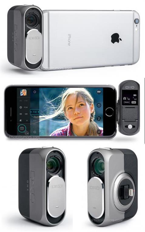 DxO'dan iPhone'a özel bir kamera aparatı geliyor (Güncellendi)