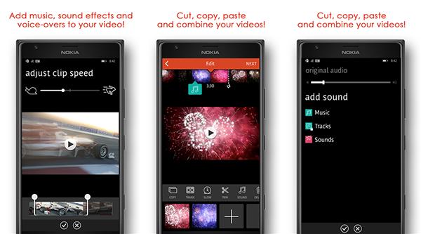 Windows Phone için Videoshop - Video Editor uygulaması kullanıma sunuldu