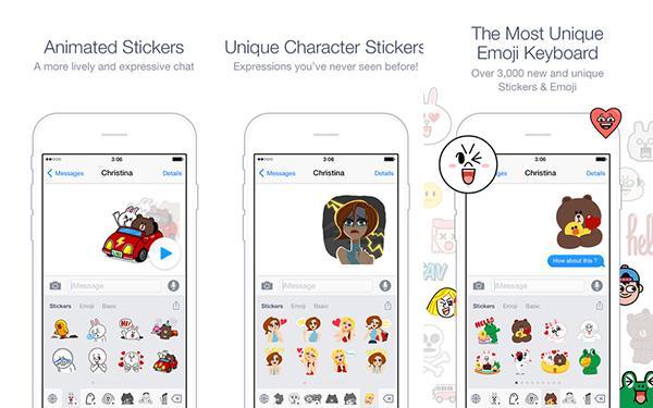 Line, iOS için Emoji klavyesini kullanıma sundu