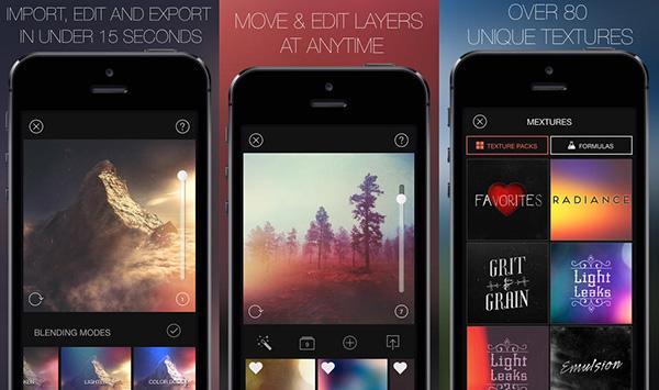 iOS uyumlu fotoğraf filtre uygulaması Mextures indirime girdi