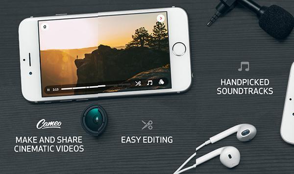 iOS uyumlu video uygulaması Cameo baştan yaratıldı