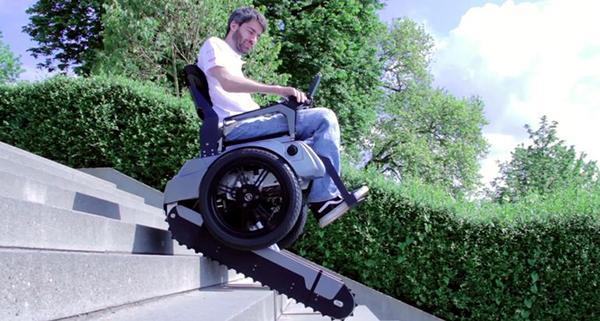 ETH Zurich'den merdiven çıkabilen tekerlekli sandalye: Scalevo