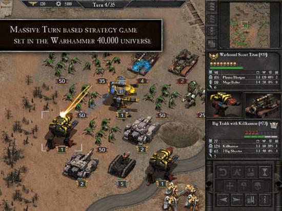 Warhammer 40k: Armageddon, iPad için indirmeye sunuldu