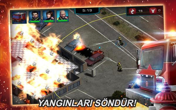 RESCUE: Heroes in Action en iyi itfaiye simülasyonu olmaya aday