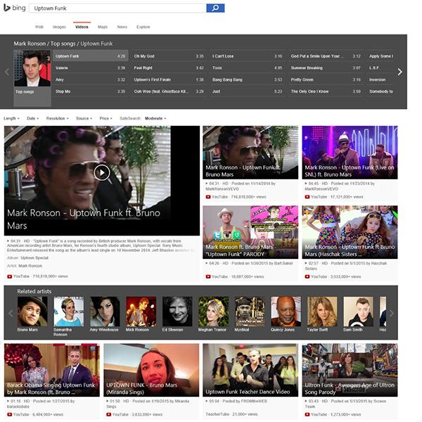 Bing'in video arama arayüzü yenilendi