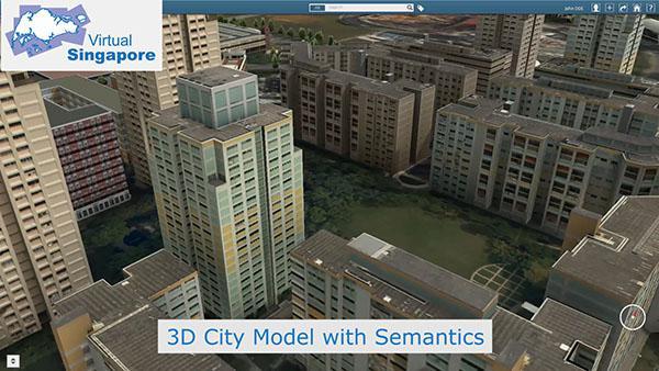 Singapur'un üç boyutlu sanal modeli oluşturuluyor