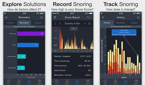 iOS için hazırlanan SnoreLab, bugün için ücretsiz
