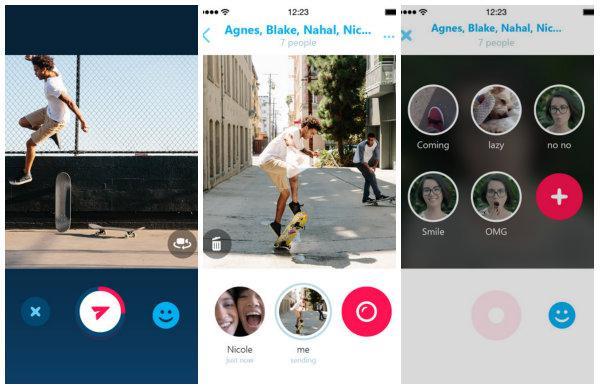 Skype Qik, iOS tarafında yeni özellikler kazandı