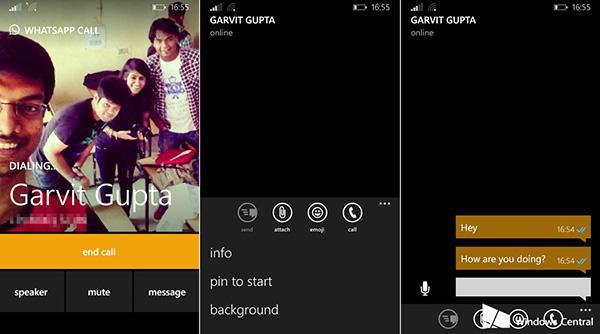 WhatsApp'ın sesli arama özelliği bütün Windows Phone kullanıcılarına geldi