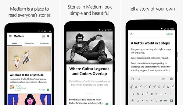 Medium blog platformunun beklenen Android uygulaması kullanıma sunuldu