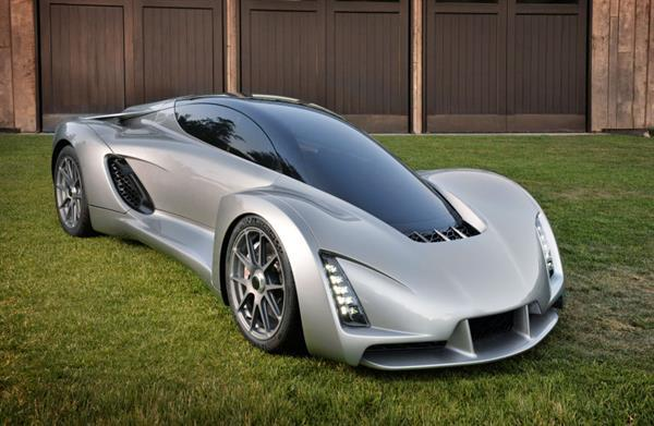 3D yazıcıların son şaheseri: Süper araba 'Blade'
