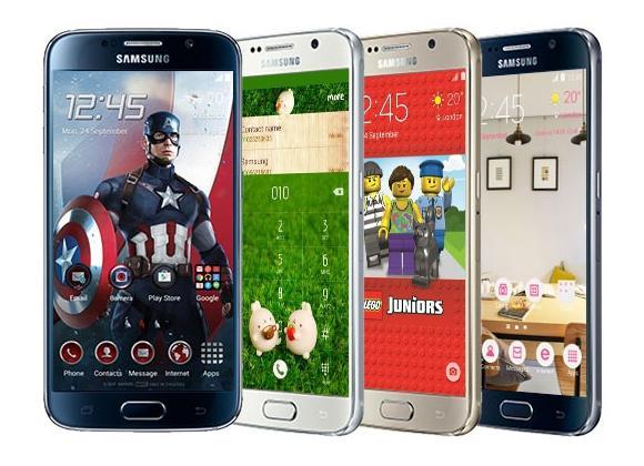 Samsung Galaxy S6 temaları 6 milyon kez indirildi