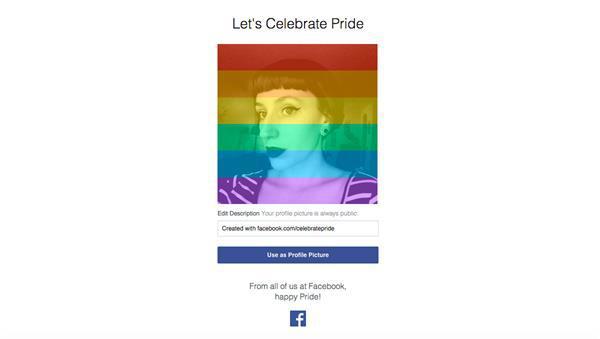 Facebook, ABD'de aynı cinsiyete sahip bireylerin evlenebilmesini kutluyor